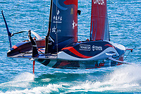 12/03/21 - Auckland (NZL)36th America's Cup presented by PradaAmerica's Cup Match - Race Day 2Emirates Team New Zealand