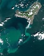 Volcanic tremors began on the Island of El Hierro in the Canary Islands. In October, an underwater volcanic vent began erupting. November 1, 2011.