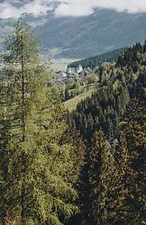 THEMENBILD - die Burg Kaprun umgeben von Wald, aufgenommen am 30. April 2020, Kaprun, Österreich // the castle Kaprun surrounded by forest on 2020/04/30, Kaprun, Austria. EXPA Pictures © 2020, PhotoCredit: EXPA/ Stefanie Oberhauser