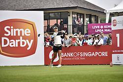 October 27, 2017 - Kuala Lumpur, Malaysia - Lydia Ko of New Zealand during day two of the Sime Darby LPGA Malaysia at TPC Kuala Lumpur on October 27, 2017 in Kuala Lumpur, Malaysia  (Credit Image: © Chris Jung/NurPhoto via ZUMA Press)