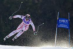 12.02.2011, Kandahar, Garmisch Partenkirchen, GER, FIS Alpin Ski WM 2011, GAP, Herren Abfahrt, im Bild Michael Walchhofer (AUT) takes to the air competing in the men's downhill race on the Kandahar race piste at the 2011 Alpine skiing World Championships, EXPA Pictures © 2010, PhotoCredit: EXPA/ M. Gunn