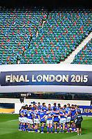 Groupe Clermont - 01.05.2015 - Captains' Run de Clermont avant la finale - European Rugby Champions Cup -Twickenham -Londres<br /> Photo : David Winter / Icon Sport