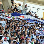 Kasimpasaspor's supporters during their Turkish superleague soccer match Kasimpasaspor between Fenerbahce at the Recep Tayyip Erdogan stadium in Istanbul Turkey on Sunday 25 April 2010. Photo by TURKPIX