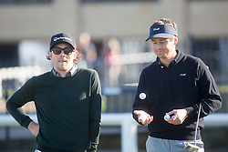 Sam McTrusty and Tom Chaplin. Alfred Dunhill Links Championship this morning at St Andrews.