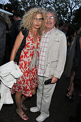 BILL & SUZANNE WYMAN at the annual Serpentine Gallery Summer Party sponsored by Burberry held at the Serpentine Gallery, Kensington Gardens, London on 28th June 2011.