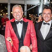 NLD/Amsterdam/20161013 - Televiziergala 2016, Gordon heuckeroth, Gerard Joling en enkele ouderen