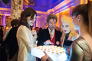 BELLA FREUD; DUGGIE FIELDS; PAM HOGG, Private view of David Bowie is. V and A Museum. Cromwell Rd. London. 20 March 2013