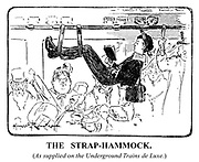 The Strap-Hammock. (As supplied on the underground trains de luxe.)