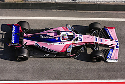 March 1, 2019 - Barcelona, Catalonia, Spain - Sergio Perez from Mexico with 11 SportPesa Racing Point F1 Team in action during the Formula 1 2019 Pre-Season Tests at Circuit de Barcelona - Catalunya in Montmelo, Spain on March 1. (Credit Image: © Xavier Bonilla/NurPhoto via ZUMA Press)