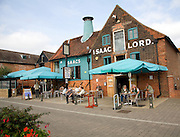 Isaac Lord pub converted maltings, Wet Dock, Ipswich, Suffolk, England
