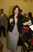 ' Kate Westbrook'  ( Samantha Weinberg ) The Moneypenny diaries book launch. Smythson, 40 New Bond St. London.  4 October 2005. . ONE TIME USE ONLY - DO NOT ARCHIVE © Copyright Photograph by Dafydd Jones 66 Stockwell Park Rd. London SW9 0DA Tel 020 7733 0108 www.dafjones.com
