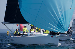 Sailing - SCOTLAND  - 25th May 2018<br /> <br /> Opening days racing the Scottish Series 2018, organised by the  Clyde Cruising Club, with racing on Loch Fyne from 25th-28th May 2018<br /> <br /> GBR8543R, Jings, Robin Young, CCC, J109<br /> <br /> Credit : Marc Turner<br /> <br /> Event is supported by Helly Hansen, Luddon, Silvers Marine, Tunnocks, Hempel and Argyll & Bute Council along with Bowmore, The Botanist and The Botanist