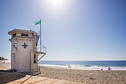Laguna Beach Lifeguard Tower at Main Beach