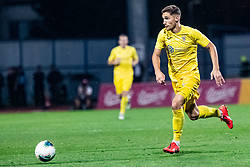 Adam Gnezda Cerin of NK Domzale during Football match between NK Domzale and Malmo FF in Second Qualifying match of UEFA Europa League 2019/2020, on July 25th, 2019 in Sports park Domzale, Domzale, Slovenia. Photo by Grega Valancic / Sportida