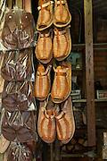 Huraches, sandal, San Juan de Dios Market, Guadalajara, Jalisco, Mexico