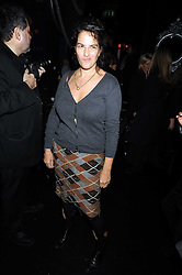 TRACEY EMIN at a party to celebrate the publication of Cloak & Dagger Butterfly by Amanda Eliasch held at the Soho Revue Bar, London on 17th November 2008.