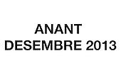 Anant Desembre 2013