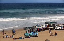 South Africa - Durban -16/06/2020. fisherman and the members of the community waiting for the sardines at Umgababa beachduring midday. this will be the second time because they came out in the morning at the same place. Picture: Nqobile mbonambi/ Africannewsagency(ANA)