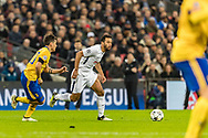 Juventus forward Paulo Dybala and Tottenham Hotspur midfielder Mousa Dembele during the Champions League match between Tottenham Hotspur and Juventus FC at Wembley Stadium, London, England on 7 March 2018. Picture by Toyin Oshodi.