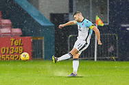 Iain Vigurs from Ross County firesduring the Scottish Premiership match between Ross County FC and St Mirren FC at the Global Energy Stadium, Dingwall, Scotland on 26 December 2020