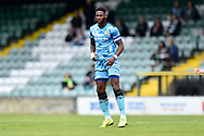 Jamille Matt (14) of Forest Green Rovers during the Pre-Season Friendly match between Yeovil Town and Forest Green Rovers at Huish Park, Yeovil, England on 31 July 2021.