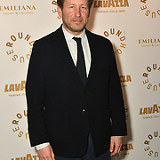 Ed Vaizey attend Biennial fundraiser in aid of The Roundhouse Trust which helps 3000  11-25 year-olds from all backgrounds to realise their creative potential through opportunities in music, media and performing arts on 14 March 2019 at Roundhouse Gala, London, UK.