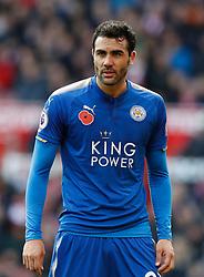 Leicester City's Vicente Iborra