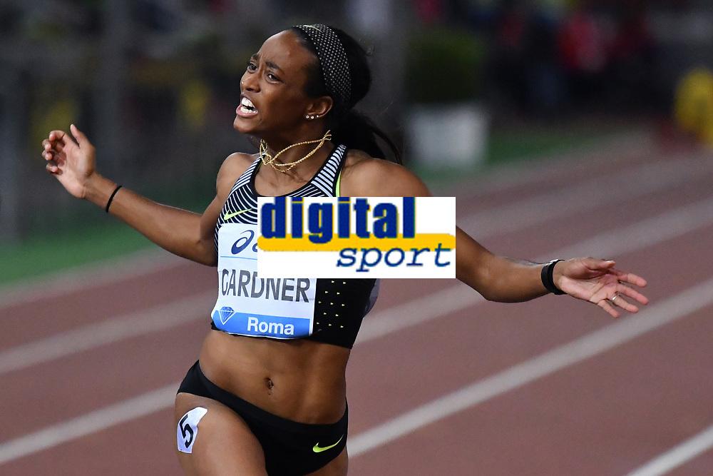 English GARDNER USA 100m Women <br /> Roma 03-06-2016 Stadio Olimpico <br /> IAAF Diamond League Golden Gala <br /> Atletica Leggera<br /> Foto Andrea Staccioli / Insidefoto