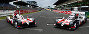 June 10-16, 2019: 24 hours of Le Mans. 8 TOYOTA GAZOO RACING, TOYOTA TS050 - HYBRID, Sébastien BUEMI, Kazuki NAKAJIMA, Fernando ALONSO, 7 TOYOTA GAZOO RACING, TOYOTA TS050 - HYBRID,  Mike CONWAY, Kamui KOBAYASHI, Jose Maria LOPEZ