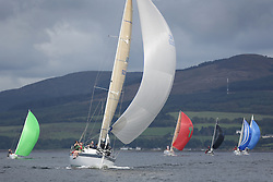 Peelport Clydeport Largs Regatta Week 2013 <br /> <br /> Class 2, GBR5030C, More Misjif, Sunfast 37, Roddy Angus / Alastair Tear, FYC<br /> <br /> Largs Sailing Club, Largs Yacht Haven, Scottish Sailing Institute
