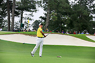 Takumi Kanaya (JPN)(AM) on the 3rd tee during the 1st round at the The Masters , Augusta National, Augusta, Georgia, USA. 11/04/2019.<br /> Picture Fran Caffrey / Golffile.ie<br /> <br /> All photo usage must carry mandatory copyright credit (© Golffile | Fran Caffrey)