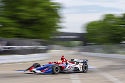 June 1, 2018 - Detroit, Michigan, United States of America - MATHEUS LEIST (4) of Brazil takes to the track for a practice session for the Detroit Grand Prix at Belle Isle Street Course in Detroit, Michigan. (Credit Image: © Stephen A. Arce/ASP via ZUMA Wire)