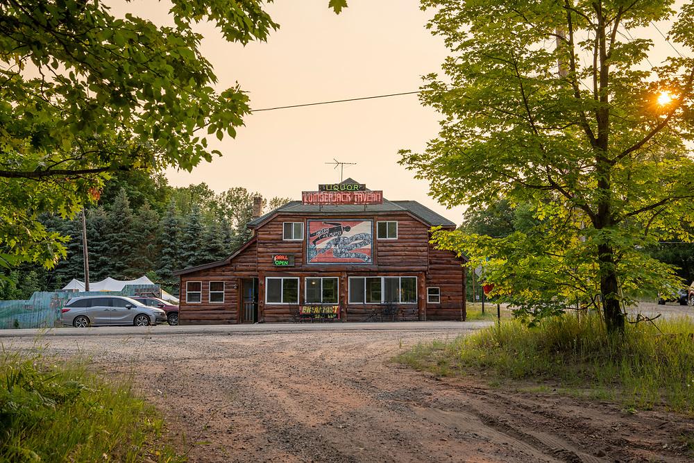 The Lumberjack Tavern in Big Bay, Michigan.