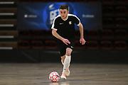 Capital player Luc Saker in the Mens Futsal Superleague match, Central v Capital, Pettigrew Green Arena, Napier, Saturday, September 28, 2019. Copyright photo: Kerry Marshall / www.photosport.nz