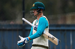 Australia's Peter Handscomb during a nets session at the Adelaide Oval, Adelaide.