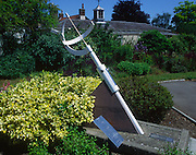 Sun dial, Elmhurst Park, Woodbridge, Suffolk, England