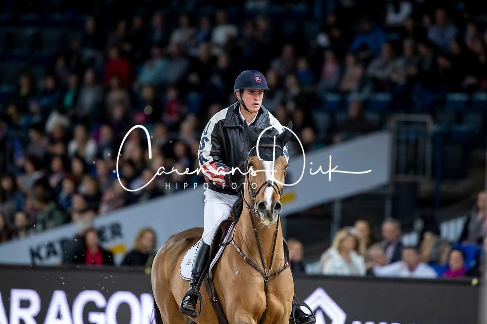 Verlooy Jos, BEL, Japatero Vdm<br /> Stuttgart - German Masters 2018<br /> © Hippo Foto - Stefan Lafrentz