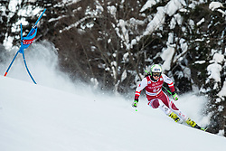 Katharina Huber (AUT) during the Ladies' Giant Slalom at 57th Golden Fox event at Audi FIS Ski World Cup 2020/21, on January 16, 2021 in Podkoren, Kranjska Gora, Slovenia. Photo by Vid Ponikvar