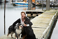 Portraits and fun shots of the team at Beattie Tartan PR at the strategic planning session in Sooke, BC.