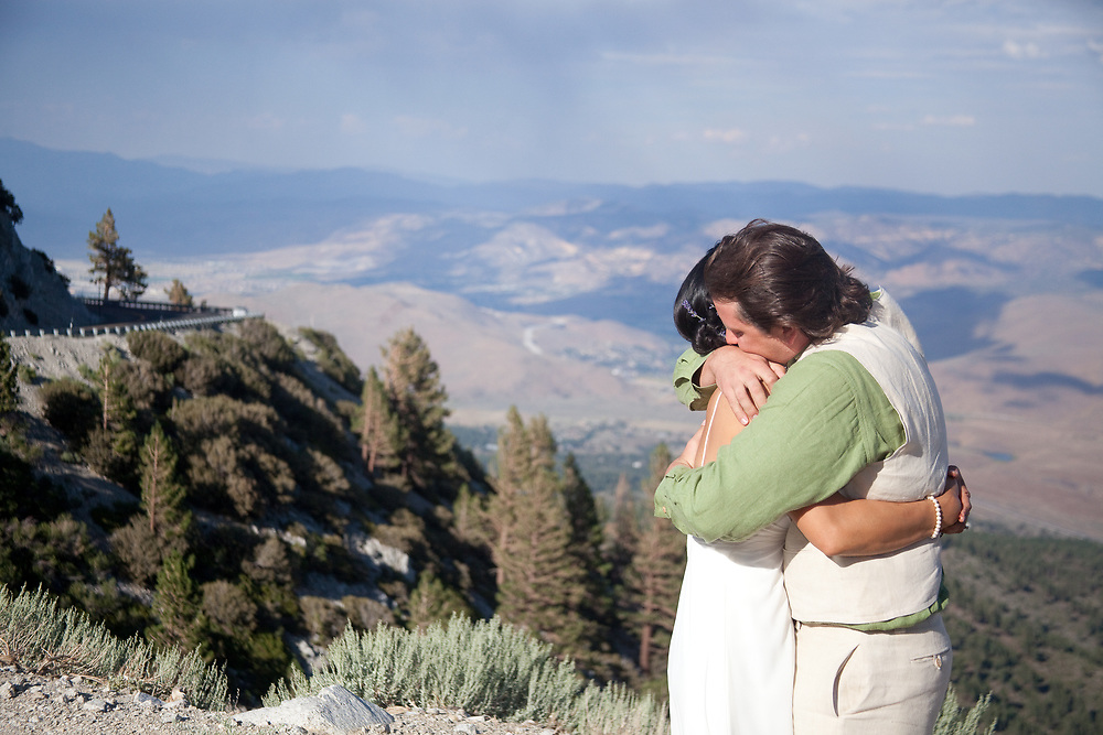 Go West Foto Wedding Photography Portfolio --  Mt. Rose Summit, Nevada.