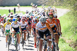 Roxane Knetemann (Rabo Liv) - Flèche Wallonne Femmes - a 137km road race from starting and finishing in Huy on April 20, 2016 in Liege, Belgium.