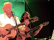 Justin Hayward of the Moody Blues in Concert at Chicago City Winery with Mike Dawes and Julie Ragins