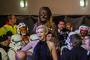 Gwendoline Christie  - The European Premiere of STAR WARS: THE FORCE AWAKENS - Odeon, Empire and Vue Cinemas, Leicester Square, London.