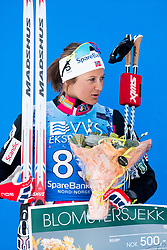 April 6, 2018 - Alta, NORWAY - 180406 Ingvild Flugstad ¯stberg after the Women's 5 km Classic during the Norwegian Championship on April 6, 2018 in Alta..Photo: Jon Olav Nesvold / BILDBYRN / kod JE / 160235 (Credit Image: © Jon Olav Nesvold/Bildbyran via ZUMA Press)