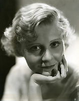 1930 Actress Peg Entwhistle who later jumped off the letter H