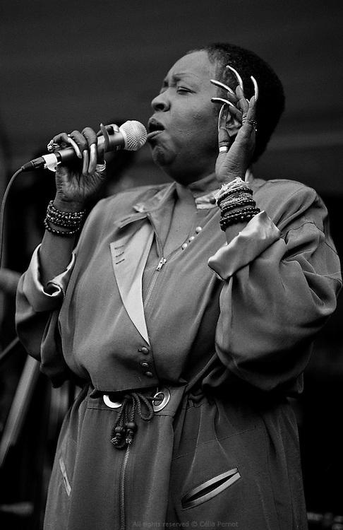 Faye Caroll, Jazz party, Berkeley