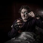 Shane MacGowan Portrait