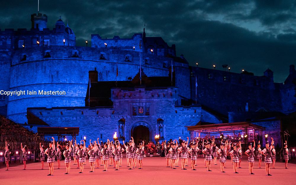 Edinburgh, Scotland, UK. 5 August, 2019.  The Royal Edinburgh Military Tattoo forms part of the Edinburgh International festival. Pictured; The Tattoo Dance Company