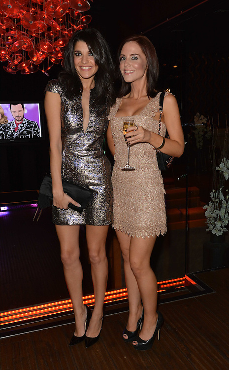 Inside soap awards . Natlie Anderson and Stephanie Waring  .pic Dave Nelson