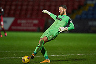 St Mirren Goalkeer Jak Alnwick during the Scottish Premiership match between Ross County FC and St Mirren FC at the Global Energy Stadium, Dingwall, Scotland on 26 December 2020